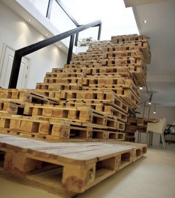 Top 10 Stairs Made From Unusual Thingss