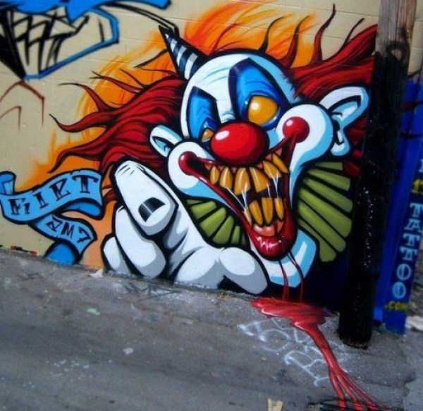 Top 10 Beautifully Scary Halloween Street Art
