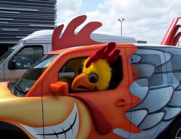 Ten of the Craziest Chicken Shaped Cars You Will Ever See!