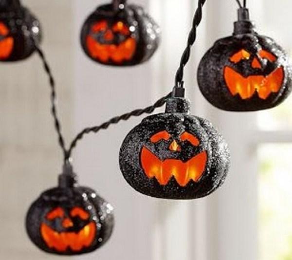 Pumpkin Halloween String Lights