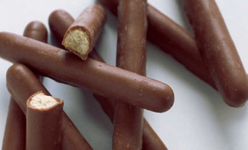 Homemade Chocolate Fingers