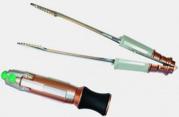 Doctor Who: Sonic Screwdriver Barbecue Tongs