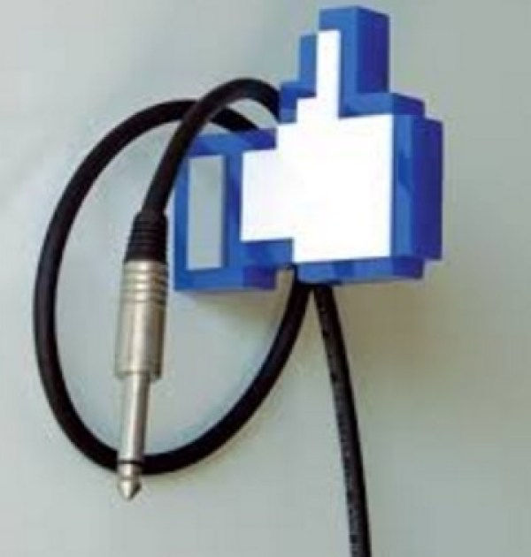 """Facebook Thumbs Up """"Like"""" Clothes Hanger"""