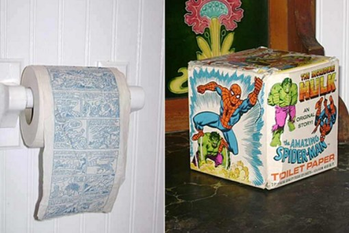 Comic Toilet Paper / Loo Roll
