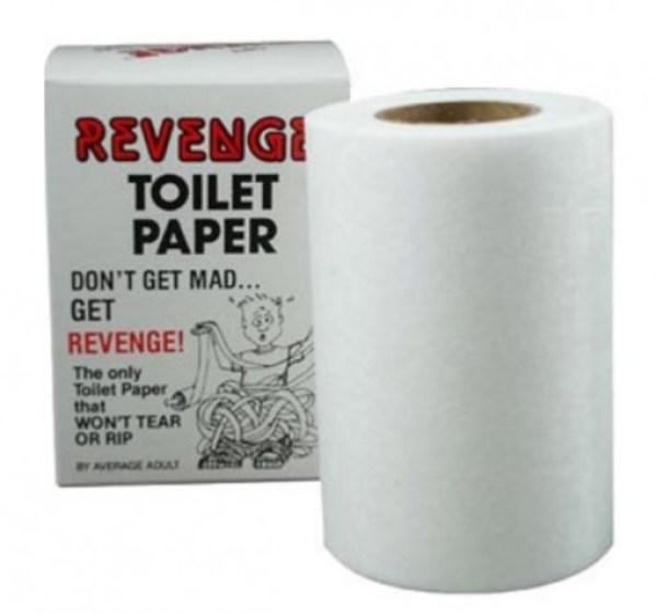Revenge Trick Toilet Paper / Loo Roll