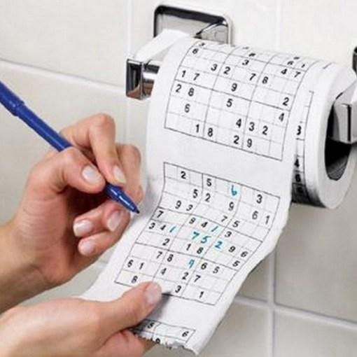 Sudoku Toilet Paper / Loo Roll