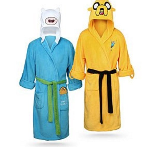 Adventure Time Bathrobes