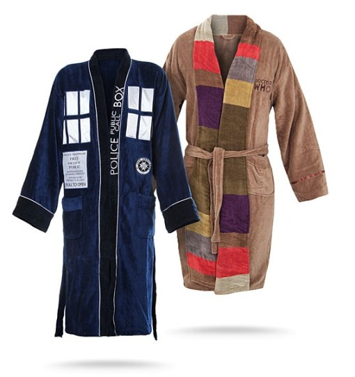 Dr Who Bathrobes