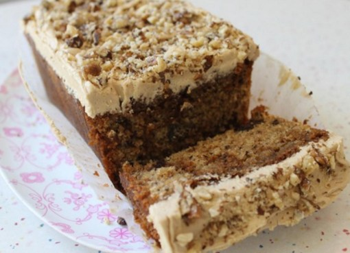 Coffee & Walnut Loaf