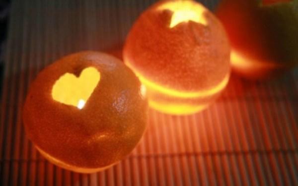 Make Orange Peel Candle