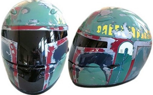 Boba Fett Crash Helmet