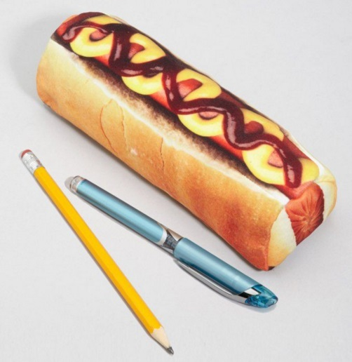 Hotdog Novelty Pencil Case
