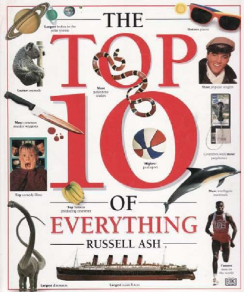 Top 10 of Everything 1995 - By Russell Ash