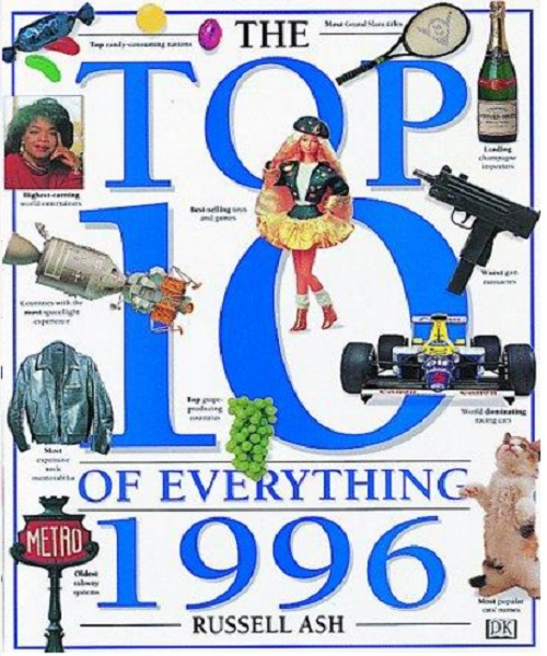 Top 10 of Everything 1996 - By Russell Ash