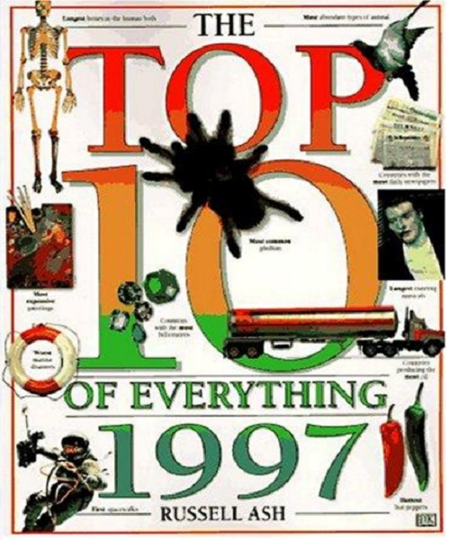 Top 10 of Everything 1997 - By Russell Ash