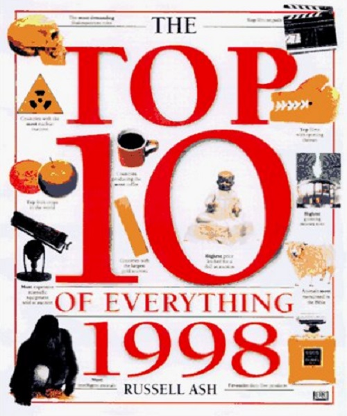 Top 10 of Everything 1998 - By Russell Ash