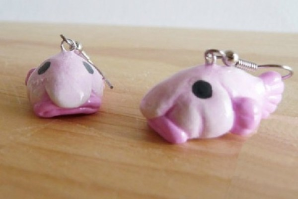 Blobfish Earrings