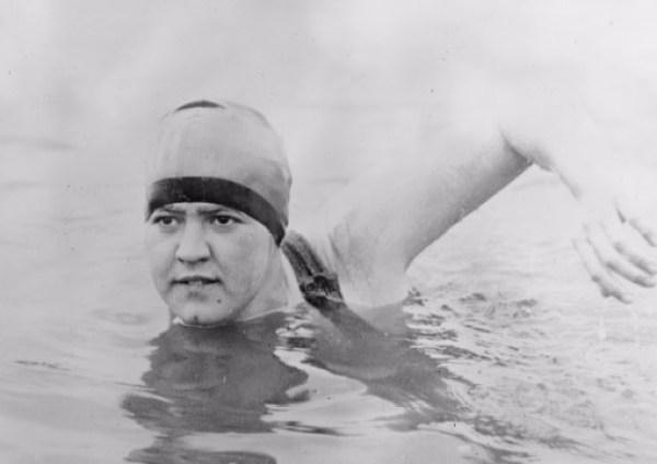 Gertrude Ederle - Swimming