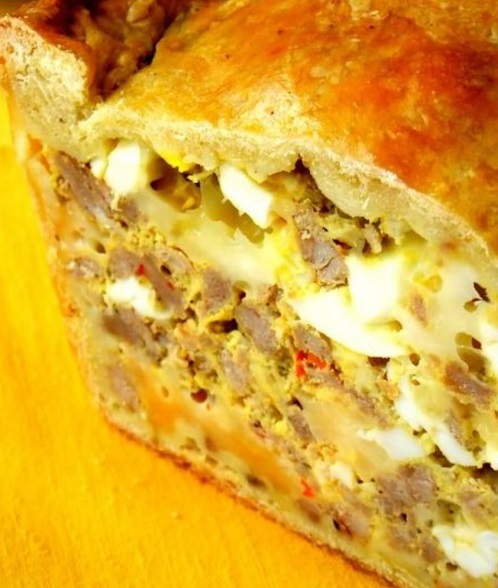 Sausage and Egg Stuffed Loaf