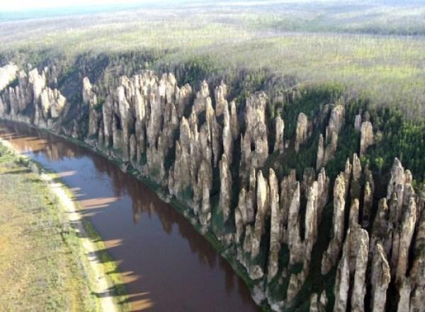 Lena Pillars, Siberia