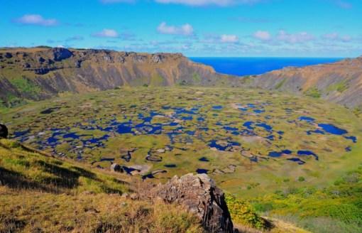 Rano Kau, Easter Island