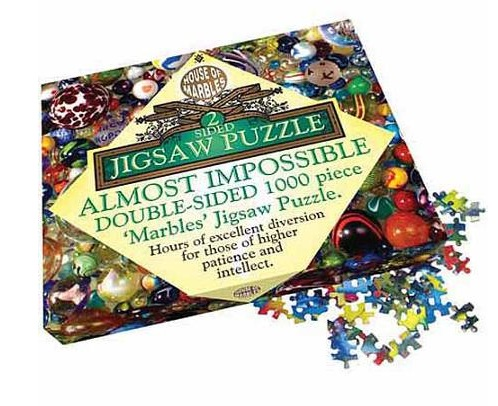 Double-sided Marble Jigsaw Puzzle - 1,000 Pieces