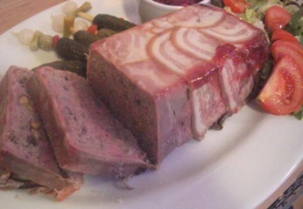 Pork, Cranberry and Pistachio Terrine