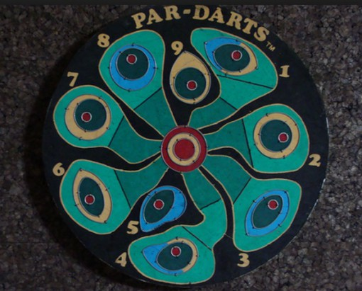 Golf Dartboard