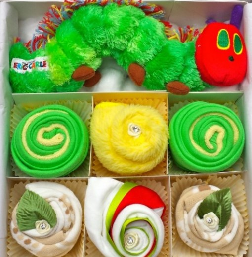 The Very Hungry Caterpillar Cupcake Folded Gift Set