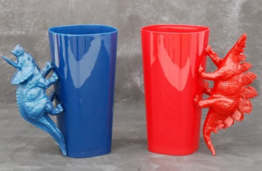 Toy Dinosaur Cup Handles