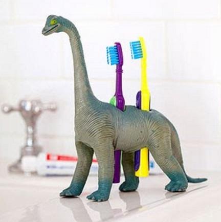 Toy Dinosaur Tooth Brush holders