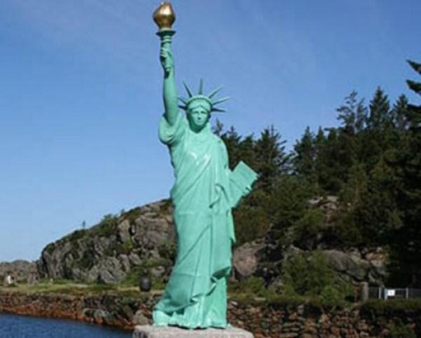 Statue Of Liberty, Karmøy