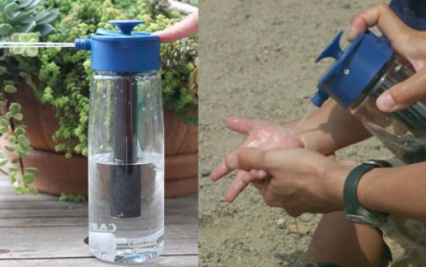Pressurized Water Bottle
