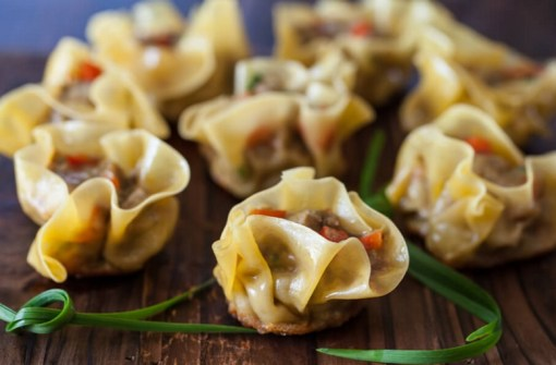 Curried Beef Dumplings