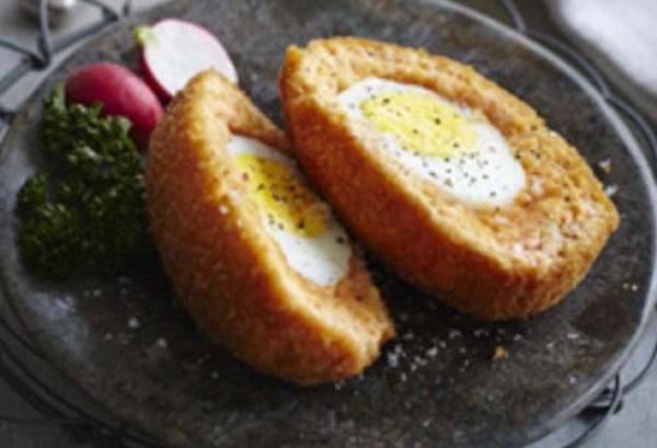 Salmon Scotch Eggs