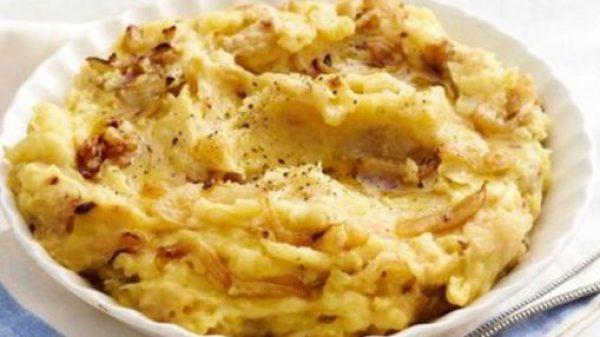 Caramelized Fennel Mashed Potato