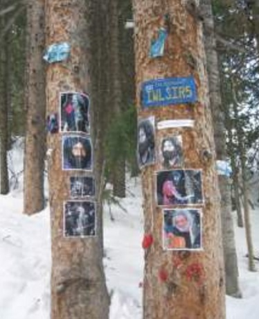 Ski Slope Celebrity Shrines