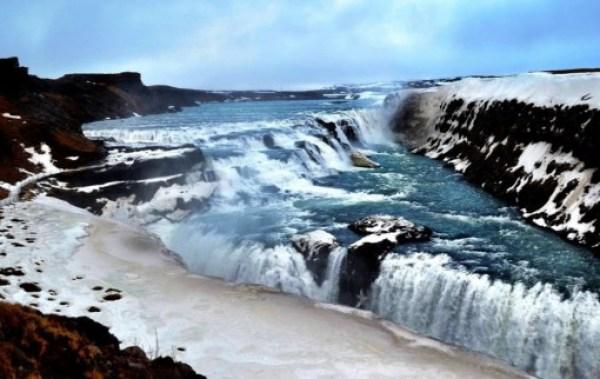 Gullfoss Waterfall, Gullfossi