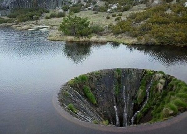 Sink Hole, Serra Da Estrela Mountain