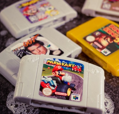 Nintendo 64 Cartridge Soaps
