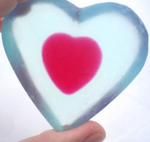 Zelda Piece of Heart Soap