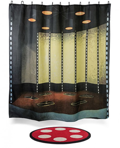 Star Trek Transporter Room Shower Curtain