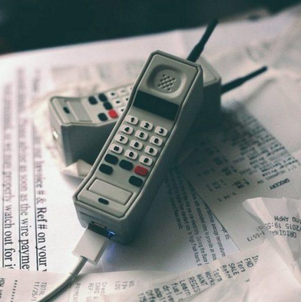 Retro Phone Portable Power Bank
