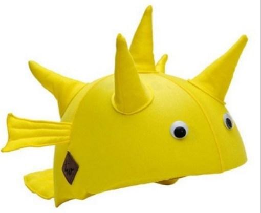 Pufferfish Helmet Cover