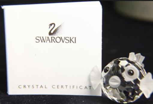 Pufferfish Swarovski Crystal