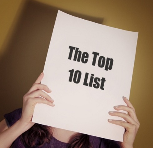 The Top 10 List