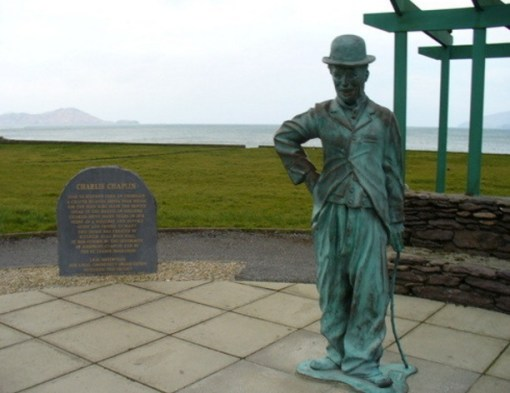 The Charlie Chaplin Statue, Ring of Kerry