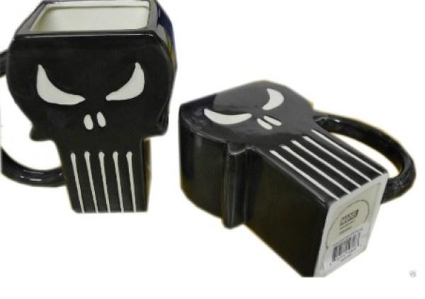 The Punisher Moulded Mug