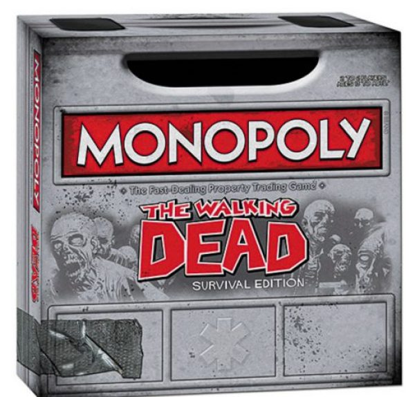 The Walking Dead Monopoly Board Game Set