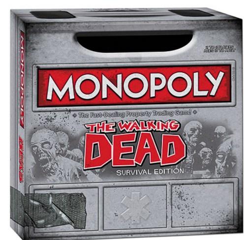 The Walking Dead Monopoly Board Game Set